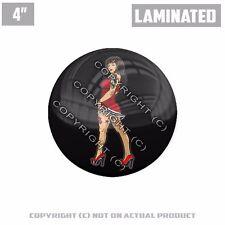 """1 Custom Thick Laminated Glossy 4"""" 3M Premium Decal Sticker - TATTOO PIN UP GIRL"""