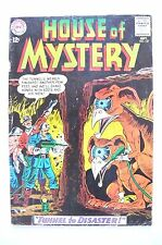 House Of Mystery 1963 #137 Vg Minus Gift Of Doom,Tunnel Of Disaster Roussos