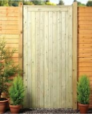 Wooden garden gate 6ft bespoke