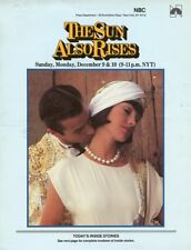 JANE SEYMOUR HART BOCHNER THE SUN ALSO RISES ORIGINAL 1984 NBC TV PRESS MATERIAL
