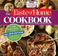 Taste of Home Cookbook: 1,380 Busy Family Recipes for Weeknights, Holidays...NEW