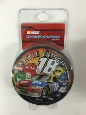 Nascar #18 Kyle Busch Tin Coasters Set of 6 (NEW) *** FREE SHIPPING ***