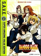 Bamboo Blade:Complete Series. Comedy Anime. In Shrink!