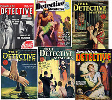 44 American Mystery, Detective Crime Stories fiction Pulp Magazine {.pdf DVD #2}