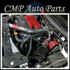 RED BLACK 2008-2015 MITSUBISHI LANCER EVO X 2.0 2.0L turbo COLD AIR INTAKE KIT