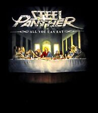 STEEL PANTHER cd cvr ALL YOU CAN EAT Official SHIRT SMALL new