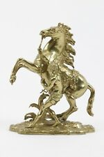 Bronze Doré Cheval De Marly Sculpture