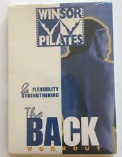 Winsor Pilates The Back Workout Flexibility Strengthening (DVD)-NEW