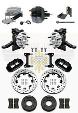 "1963-1970 Chevrolet C10/ GMC C15 2"" Drop Wilwood Disc Brake Kit 9"" Booster Kit"