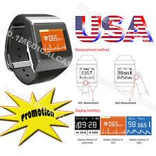 CONTEC Smart Watch Pedometer Calorie Counter SPO2/ECG Monitor US Sell Bluetooth