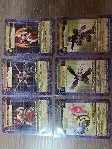 READ DESCRIPTION Digimon Series 6 megidramon BO-295 + 5 OTHERS. LAST LOT I HAVE