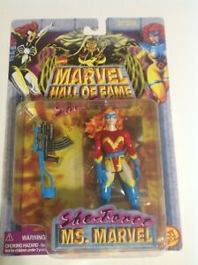 Marvel Hall of Fame She-Force Ms. Marvel Action Figure new w/wear RED outfut new