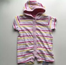 """BABY GIRLS """"M&S"""" SUMMER ALL-IN-ONE SWIMMING SUIT/HOLIDAYS, AGE 3-6 MTHS, NWT"""