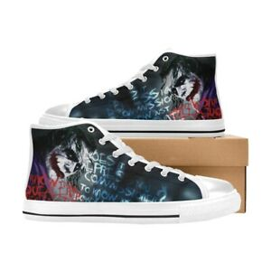 Joker Shoes High Top Canvas Casual Shoes Custom Sneakers