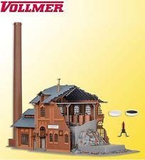 VOLLMER H0 45601 MASTERIZZAZIONE fabbrica con luce tremolante - NUOVO + conf.