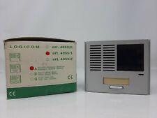 COMELIT 4055/1A LOGICOM posto esterno modulo audio telecamera con 1 pulsante