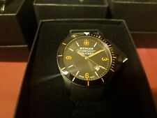 NwT Wenger Swiss Military Battalion 79031 Bezel date men's watch