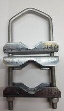 Bügelschelle U-Schelle Sat Mast doppel Schelle bis Ø 60mm 17cm lang U-Clamp