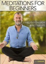MEDITATION FOR BEGINNERS DVD NEW SEALED 6 MEDITATIONS WITH JAMES PHILLIP