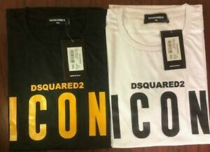Dsquared2 Men's ICON Logo Slim Fit T-Shirt New With Tags Limited Stock.