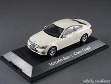 1/43 Norev Mercedes Benz C-Klasse Coupe (C204) 2011 Diamantweiß met. - 141058