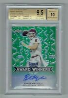 2018 Leaf Metal Draft Baker Mayfield RC AUTO 6/10(JERSEY #) BGS 9.5 (Quad 9.5's)
