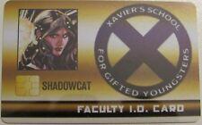 SHADOWCAT FACULTY STUDENT ID CARD XID-022 X-Men Xavier's School Marvel HeroClix