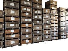 Stock 342 casse in legno per ortofrutta