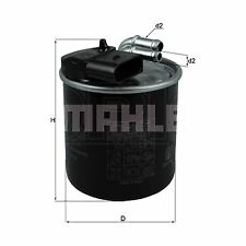 Inline Fuel Filter - MAHLE KL914 - Car - Fits Mercedes 7-Speed Auto