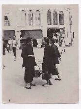 OLD PHOTOGRAPH CHINESE WOMEN SINGAPORE MALAYA VINTAGE 1920S (281)