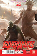 GUARDIANS OF THE GALAXY #2 1:25 DRAX GROOT MOVIE VARIANT COVER MARVEL COMIC BOOK