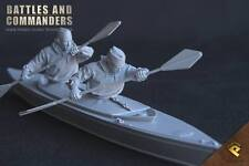 RP Models Major Blondie Hasler WW2 Unpainted 1/35th 2 figure kit OOP Last few