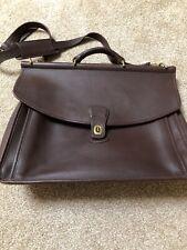 Vintage Coach Bleekman Leather Briefcase EUC