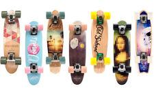 Skateboard Holz Kinder Board Kickboard Holzdeck Old School Kanadischer Ahorn