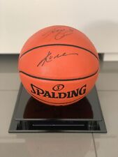 kobe bryant & Shaquille O'Neal Hand Signed Basketball *Very Rare* COA Authentic
