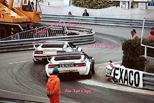 Merzario & Heyer BMW M1 Procar Carrera Grand Prix de Mónaco 1980 fotografía