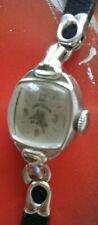 Beautiful Authentic 1950's LADY ELGIN Ladies 23 Jewels 10K RGP Wrist Watch