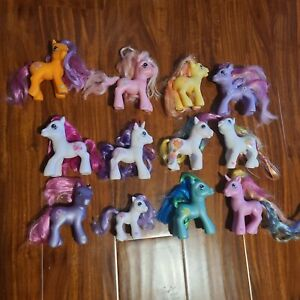 My Little Pony G3 Ponies Lot 12 Glitter Celebration Pony Rare Retired Generation