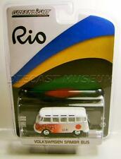 1967 '67 VOLKSWAGEN VW SAMBA BUS VAN JAPAN RIO OLYMPICS GREENLIGHT DIECAST 2016