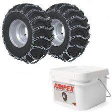 ATV Tire Chain V-Bar 2 Space 23x10x12 24X9x10 24x10x11 24x11x12 26x8x12 MoreSize
