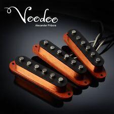 Strat Pickup set fit Fender Stratocaster Voodoo Handwound pickups ALNICO 5.
