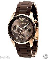 Emporio Armani Ar5891 Brown Women's chronograph Watch