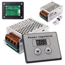 4000W 220V AC SCR Electric Voltage Regulator Dimmer Motor Speed Power Controller