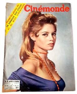 Revue CINEMONDE (N° 1141 - Juin 56) - BRIGITTE BARDOT