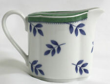 villeroy and boch Switch 3 Creamer White Green Blue China Handle NEW
