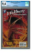 A Nightmare on Elm Street #2 (2007) DC Wildstorm CGC 9.4 White Pages N948