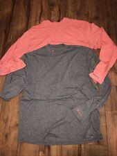 Lot Of 2 SIMMS Fishing Guide Series Shirts Long Sleeve Men's Medium T Shirt NICE