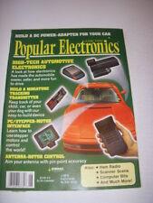 POPULAR ELECTRONICS Magazine, JUNE 1992, HIGH-TECH AUTOMOTIVE ELECTRONICS!
