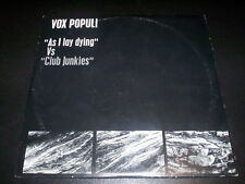 "Vox Populi ""As I Lay Dying"" VS ""Club Junkies"" 2X10"" Jarring Effects ‎FX 034 2LP"