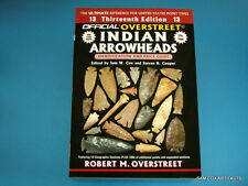 BRAND NEW Custom Cover Signed Copy 13th Overstreet Guide Indian Arrowheads